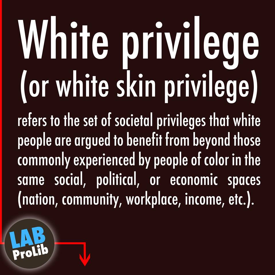 white privelage Commentary why do so many white people deny the existence of white privilege they're surrounded by pieces of the puzzle, but can't put them together.